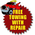Free Towing with Rebuilt Transmission Service call Sergeant Clutch